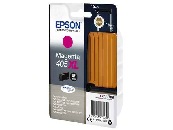 Inktcartridge Epson 405XL rood