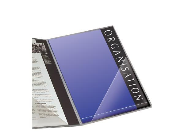 Insteektas Tarifold driehoek 100x100mm zelfklevend PP transparant