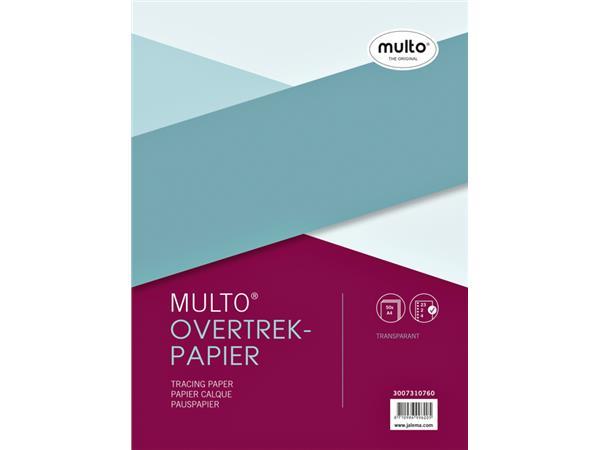 INTERIEUR MULTO 23R OVERTREKPAPIER 40GR 50V