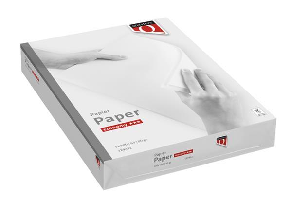 Kopieerpapier Quantore Economy A3 80gr wit 500vel
