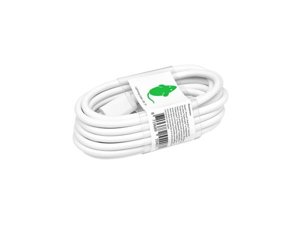 KABEL+GREEN+MOUSE+USB+LIGHTNING-A+2METER+WIT