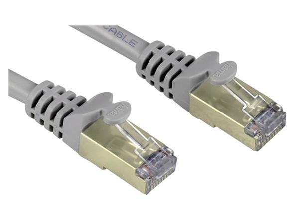 Kabel Hama CAT6 PIMF 10m grijs