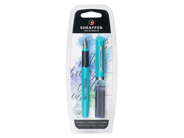 Kalligrafiepen Sheaffer Viewpoint 1.3mm blauw in blister