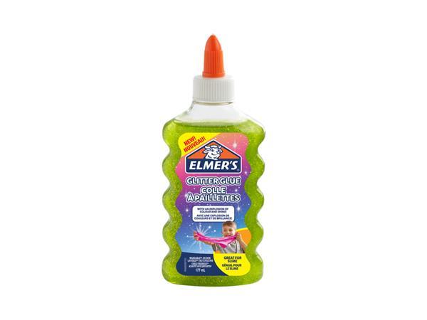 elmer's glitterlijm glitter glue groen 177 ml