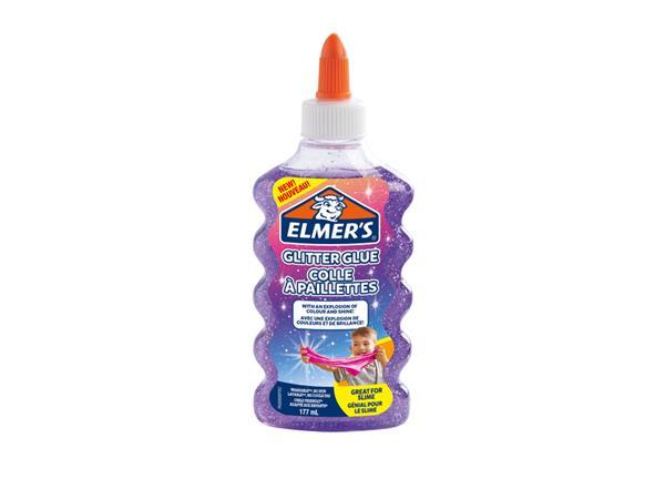 elmer's glitterlijm glitter glue violet 177 ml