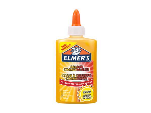 elmer's farbwechsel knutsellijm gelb-orange 147 ml
