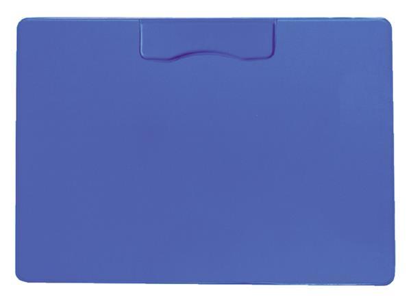 Klembord magnetisch A4 dwars blauw