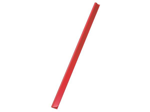 Klemrug Durable A4 3/4mm rood