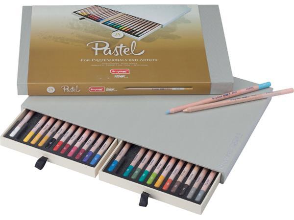 Kleurpotloden Bruynzeel 8840 Design pastel 24stuks assorti