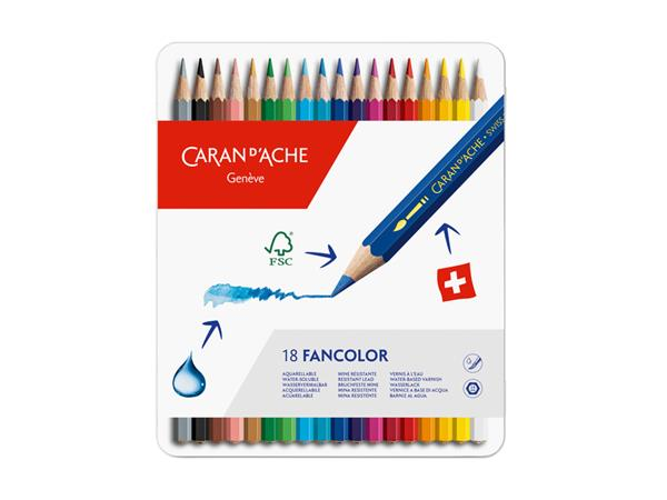 KLEURPOTLOOD CARAN D'ACHE FANCOLOR