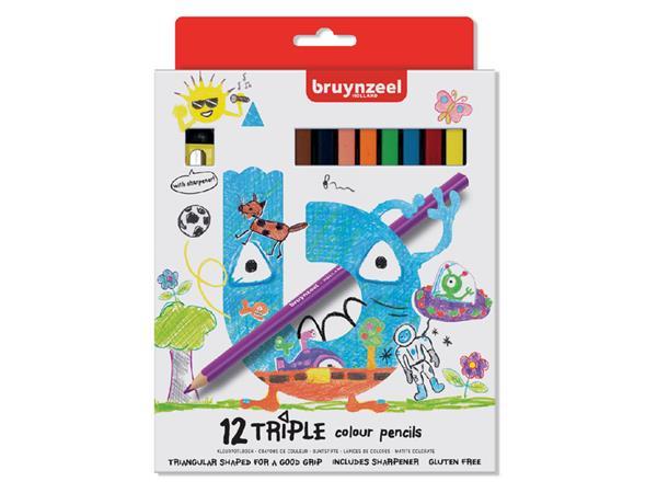KLEURPOTLOOD BRUYNZEEL KIDS TRIPLE ASS