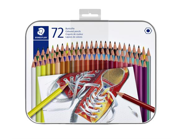 KLEURPOTLOOD STAEDTLER 6KANTIG ASSORTI