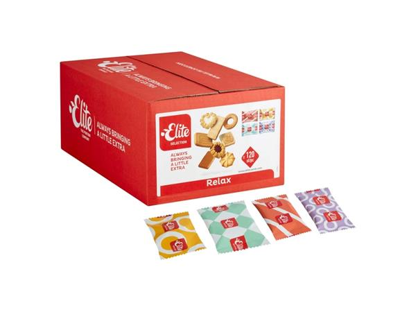 Koekjes Elite Relax biscuits 120 stuks
