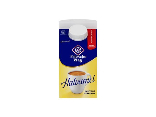 Koffiemelk Friesche vlag halvamel 455ml