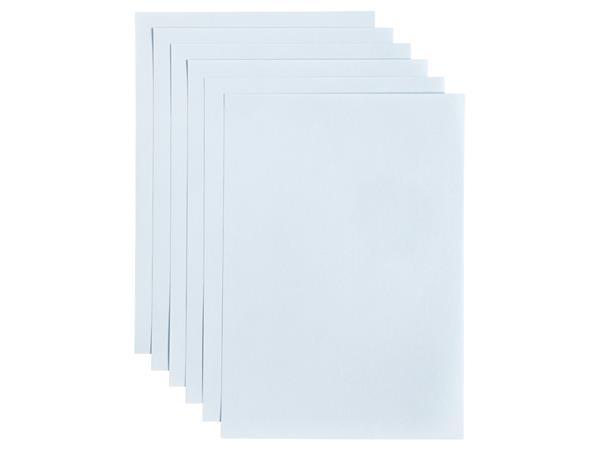 Kopieerpapier Papicolor A4 200gr 6vel babyblauw