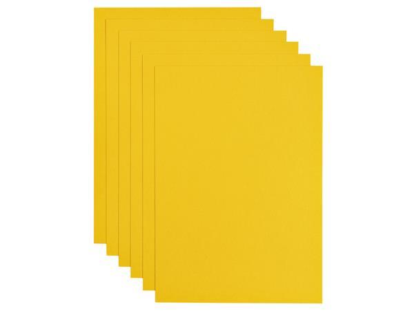 Kopieerpapier Papicolor A4 200gr 6vel dottergeel
