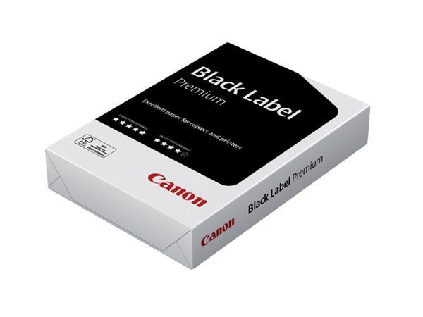 Kopieerpapier Canon Black Label Premium A4 80gr wit 500vel