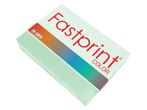 Kopieerpapier Fastprint A4 120gr appelgroen 250vel