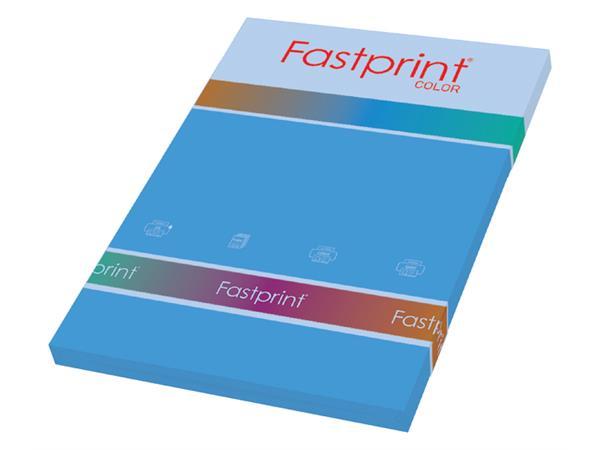 KOPIEERPAPIER FASTPRINT-100 A4 120GR DIEPBLAUW
