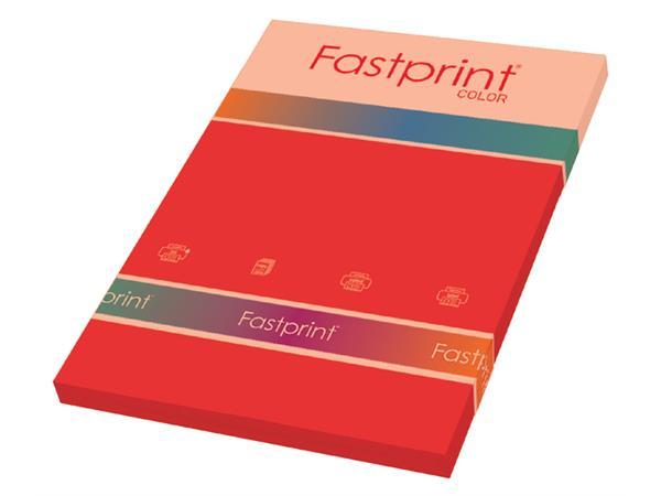 100 rouge intense couleur 80gsm A4 copieur jet d/'encre imprimante laser papier couleur