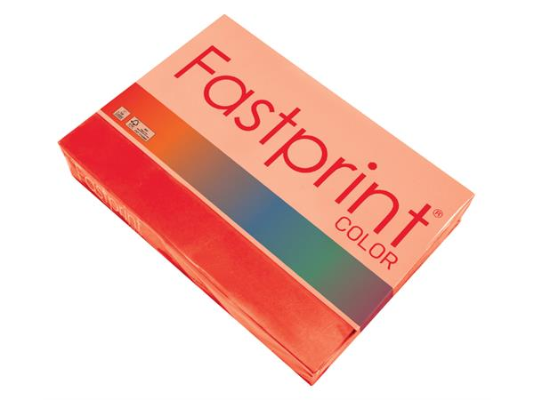 Kopieerpapier+Fastprint+A4+160gr+felrood+250vel