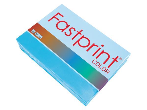 Kopieerpapier Fastprint A4 80gr azuurblauw 500vel
