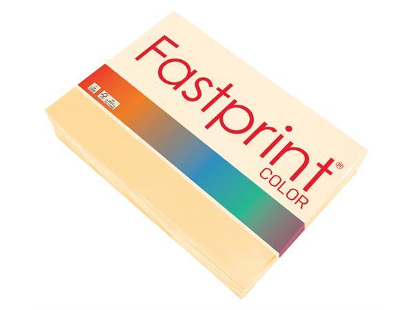 Kopieerpapier Fastprint A4 80gr donkerchamois 500vel