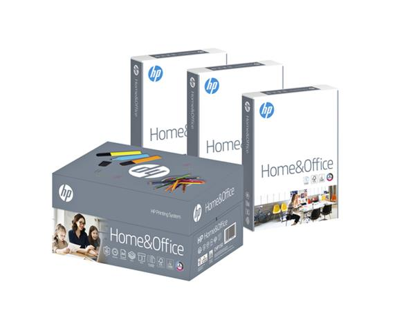 Kopieerpapier HP Home & Office A4 80gr wit 3 pak à 500vel