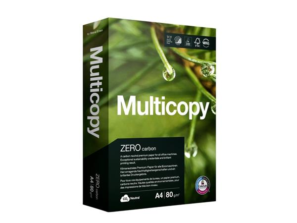 Kopieerpapier Multicopy A4 80gr wit 500vel