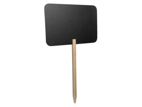 Krijtbord Securit rechthoek 73x45cm met houten pin