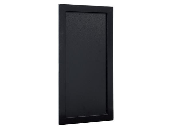 Krijtbord Securit wand 20x40cm zwart hout
