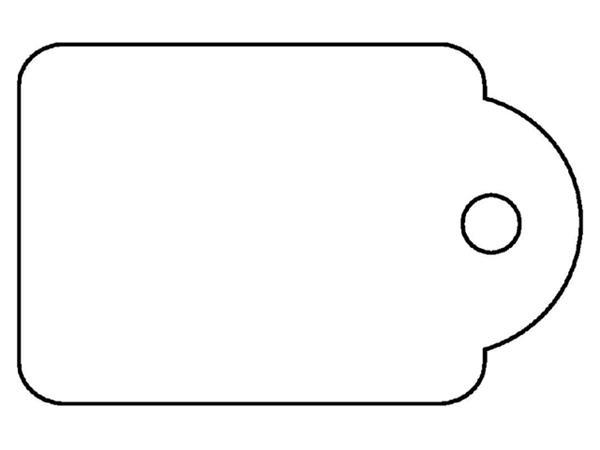 Label Apli karton nr388 15x24mm wit