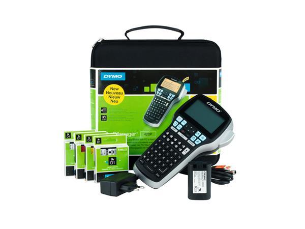 Labelprinter+Dymo+labelmanager+LM420P+ABC+Kit