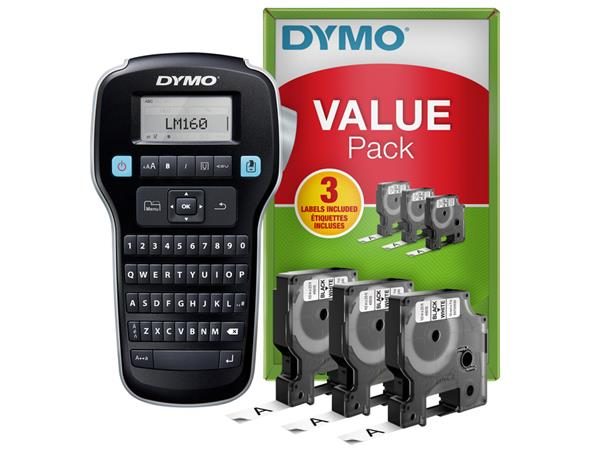 LABELMANAGER+DYMO+LM160+QWERTY+VALUEPACK