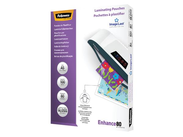LAMINEERHOES FELLOWES A5 2X80MICRON