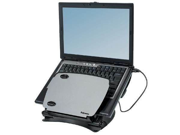 Laptopstandaard Professional series metaal+USB