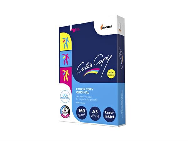 Laserpapier+Color+Copy+A3+160gr+wit+250vel