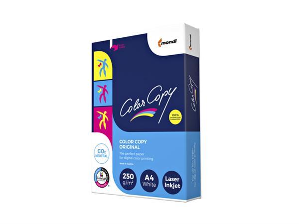 Laserpapier+Color+Copy+A4+250gr+wit+125vel
