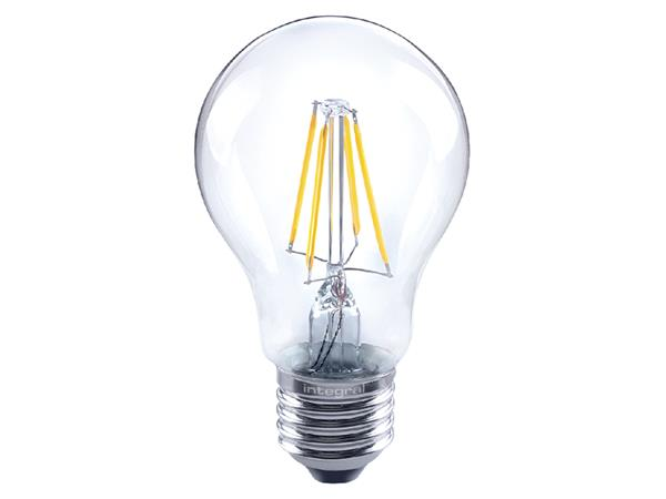 LEDLAMP INTEGRAL E27 4.5W 2700K DIMBAAR WARM WIT