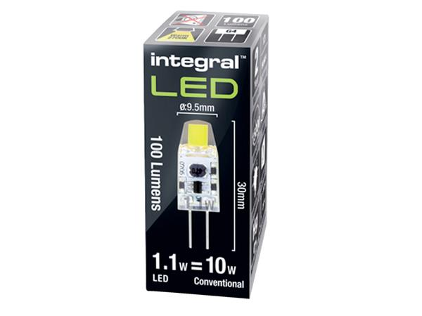 LEDLAMP INTEGRAL G4 1.1W 2700K WARM WIT