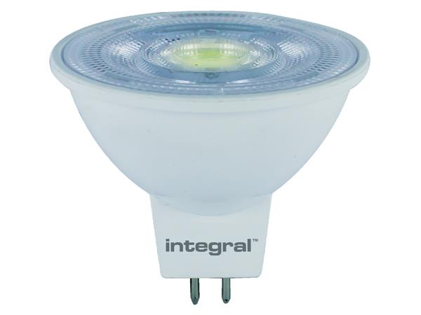 LEDLAMP INTEGRAL MR16 4.6W 4000K DIMBAAR KOEL WIT