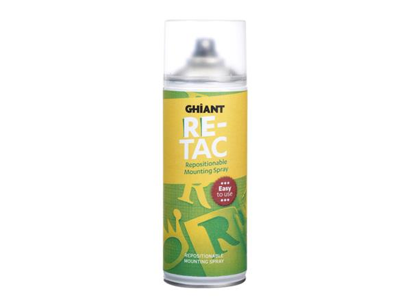 lijmspray ghiant high-tac re-positioneerbaar 400ml
