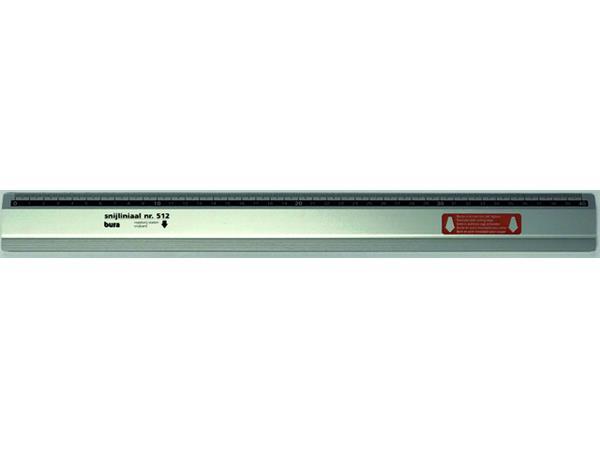 Liniaal Bura 512 400mm aluminium