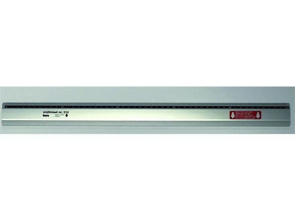 Liniaal Bura 512 500mm aluminium