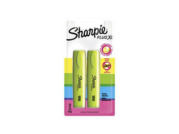 Markeerstift Sharpie XL fluo geel
