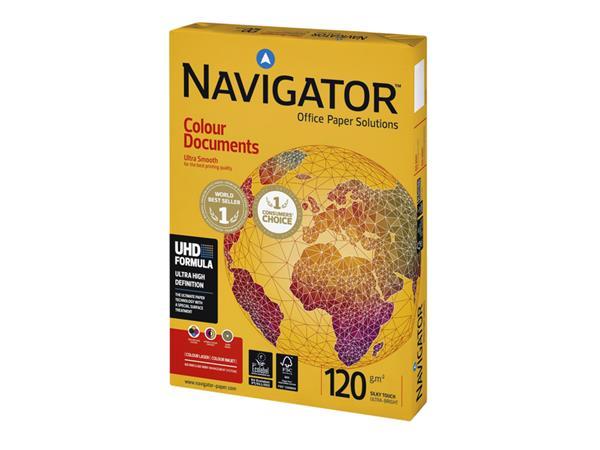 Kopieerpapier Navigator Colour Documents A3 120gr wit 500vel