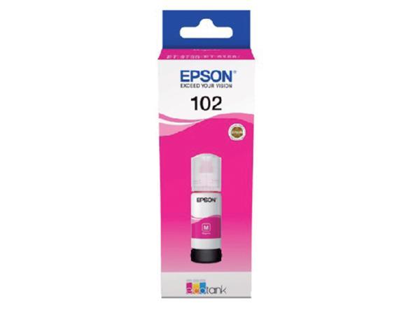Navulinkt Epson 102 T03R3 rood