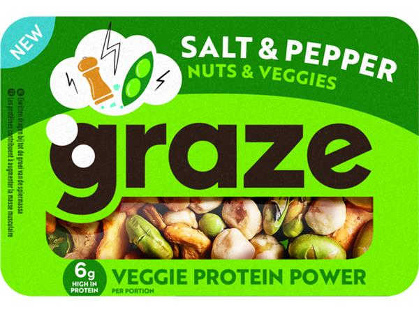 Notenmix Graze Salt & Pepper