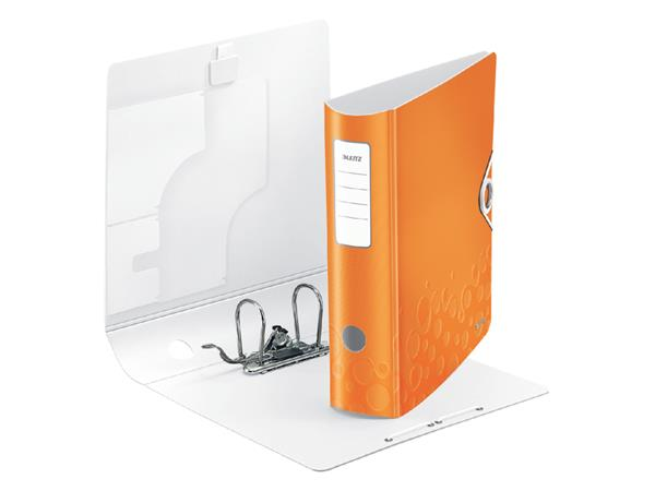 ORDNER LEITZ WOW ACTIVE 1106 75MM ORANJE