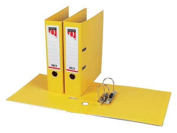 Ordner Quantore A4 80mm PP geel